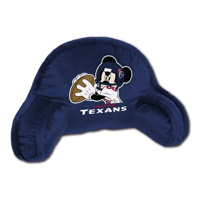 NFL Texans Disney Field Goal Bed Rest Pillow