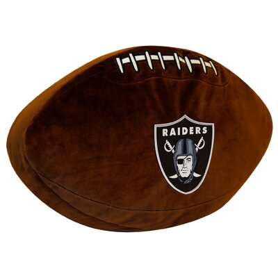 NFL Raiders Throw Pillow