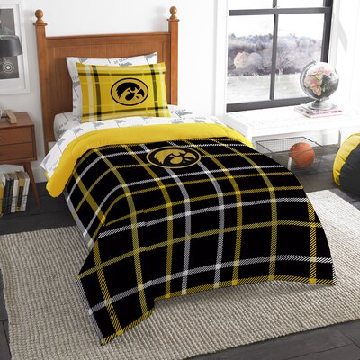 Collegiate Iowa 5 Piece Twin Comforter Set