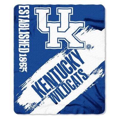 NCAA Kentucky Painted Fleece Throw