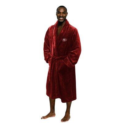 NFL 49Ers Mens Bathrobe Size: Large/Extra Large