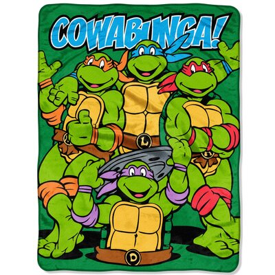 TMNT Cowabunga Dudes Throw