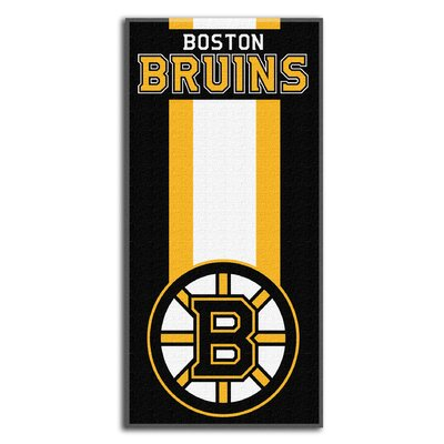 NHL Zone Read Beach Towel NHL Team: Boston Bruins