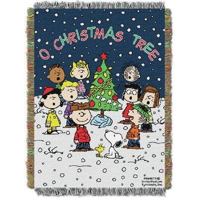 Peanuts Charlie Brown Xmas Throw