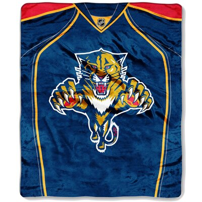 NHL Jersey Throw NHL Team: Florida Panthers