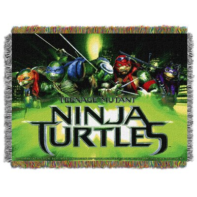 TMNT Movie Poster Throw