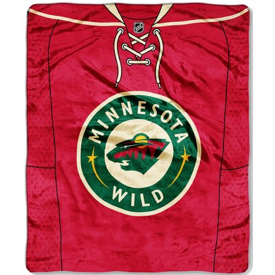 NHL Jersey Throw NHL Team: Minnesota Wild