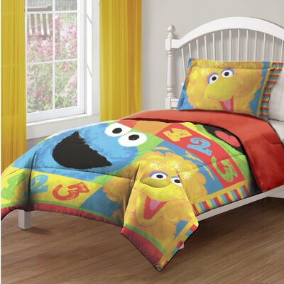 Sesame Street Big Chalk Fun Comforter