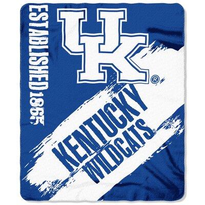 NCAA Kentucky Wildcats Painted Throw 1COL031020020RET