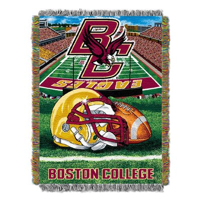 NCAA Boston College Woven Throw