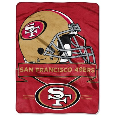 NFL Prestige Raschel Throw NFL Team: San Francisco 49ers