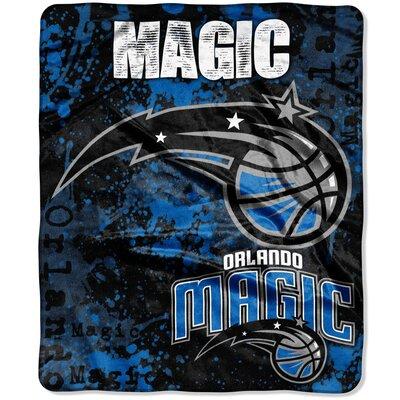 NBA Dropdown Raschel Throw NBA Team: Orlando Magic