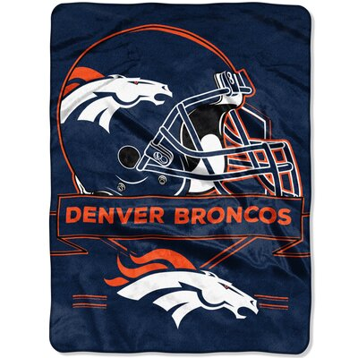NFL Prestige Raschel Throw NFL Team: Denver Broncos