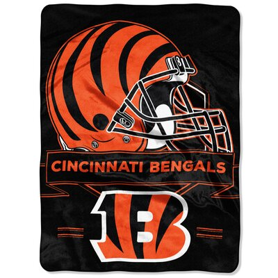 NFL Prestige Raschel Throw NFL Team: Cincinnati Bengals