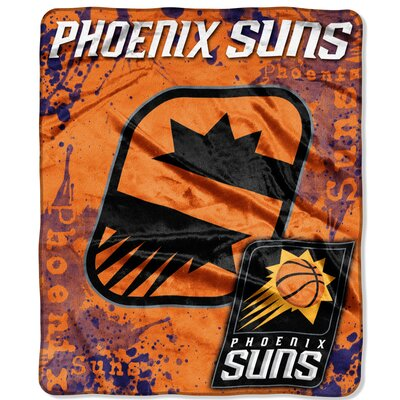 NBA Dropdown Raschel Throw NBA Team: Phoenix Suns