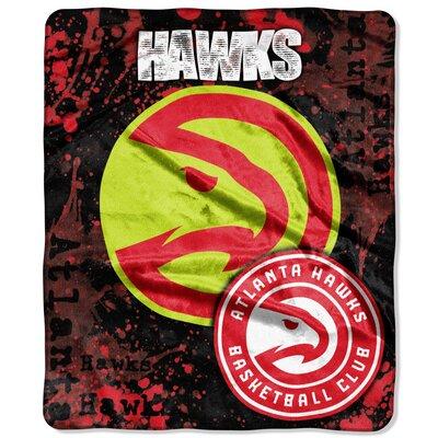 NBA Dropdown Raschel Throw NBA Team: Atlanta Hawks