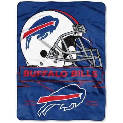 NFL Prestige Raschel Throw NFL Team: Buffalo Bills