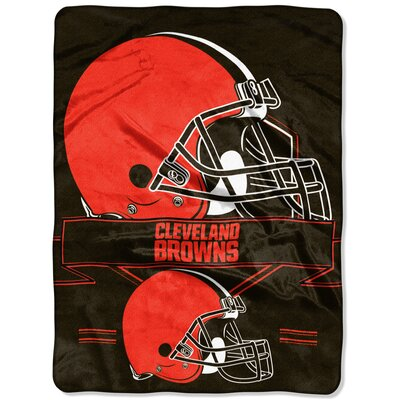 NFL Prestige Raschel Throw NFL Team: Cleveland Browns