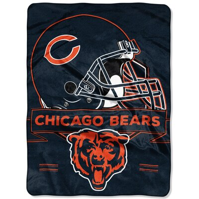 NFL Prestige Raschel Throw NFL Team: Chicago Bears