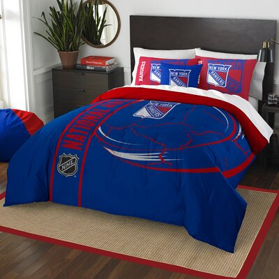NHL Comforter Set Size: Full, NHL Team: New York Rangers