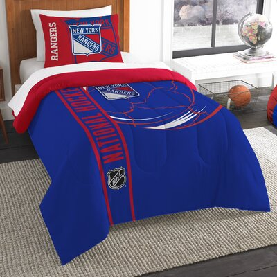 NHL Comforter Set Size: Twin, NHL Team: New York Rangers