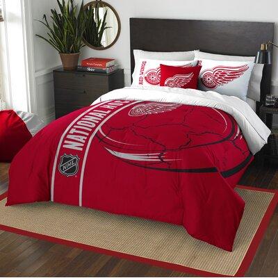NHL Comforter Set Size: Full, NHL Team: Detroit Redwings