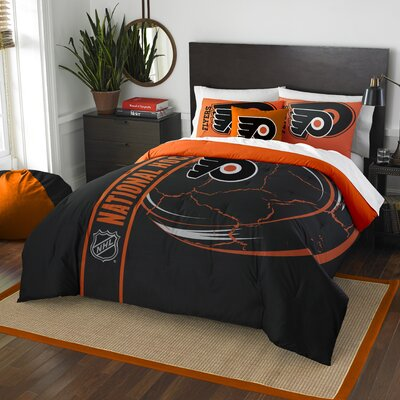 NHL Comforter Set Size: Full, NHL Team: Philadelphia Flyers