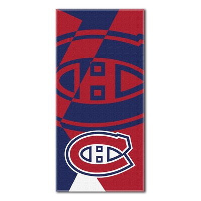 NHL Puzzle Beach Towel NHL Team: Montreal Canadiens