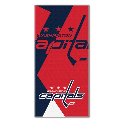 NHL Puzzle Beach Towel NHL Team: Washington Capitals