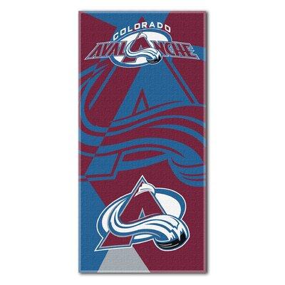 NHL Puzzle Beach Towel NHL Team: Colorado Avalanche
