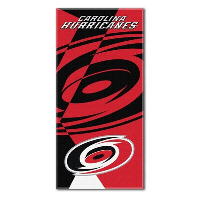 NHL Puzzle Beach Towel NHL Team: Carolina Hurricanes