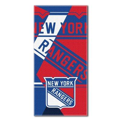 NHL Puzzle Beach Towel NHL Team: New York Rangers