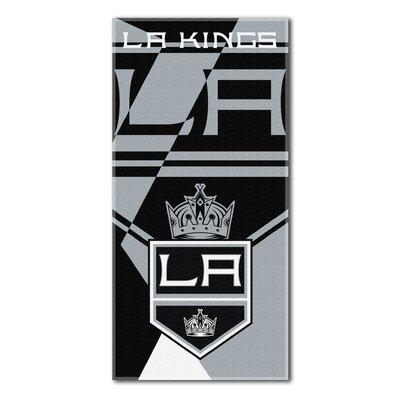 NHL Puzzle Beach Towel NHL Team: Los Angeles Kings