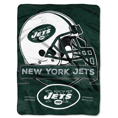 NFL Prestige Raschel Throw NFL Team: New York Jets