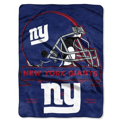 NFL Prestige Raschel Throw NFL Team: New York Giants