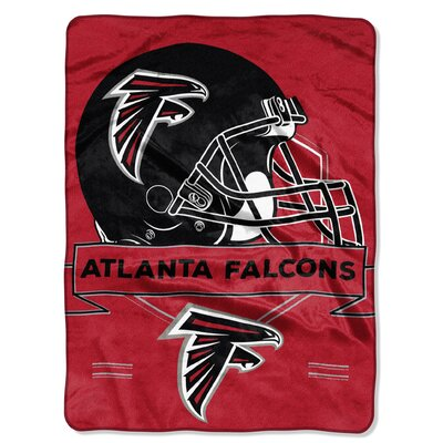 NFL Prestige Raschel Throw NFL Team: Atlanta Falcons