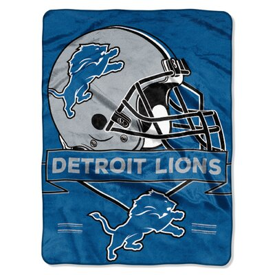 NFL Prestige Raschel Throw NFL Team: Detroit Lions