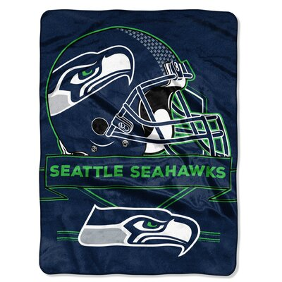 NFL Prestige Raschel Throw NFL Team: Seattle Seahawks