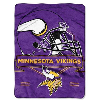 NFL Prestige Raschel Throw NFL Team: Minnesota Vikings