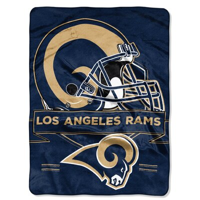 NFL Prestige Raschel Throw NFL Team: Los Angeles Rams