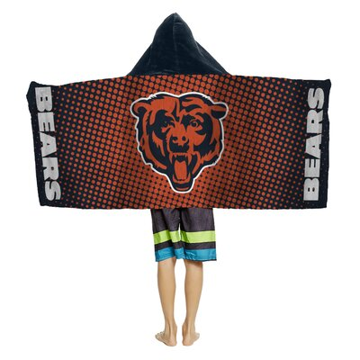 NFL Youth Hooded Beach Towel NFL Team: Chicago Bears