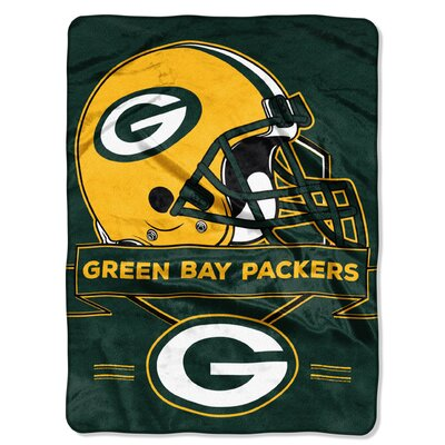 NFL Prestige Raschel Throw NFL Team: Green Bay Packers