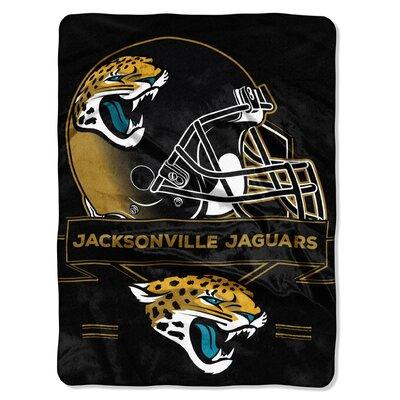 NFL Prestige Raschel Throw NFL Team: Jacksonville Jaguars