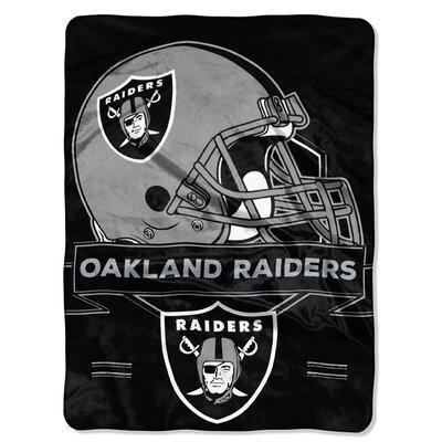 NFL Prestige Raschel Throw NFL Team: Oakland Raiders