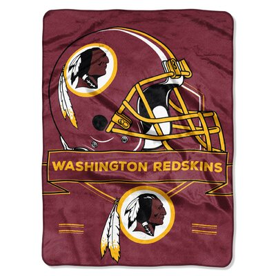 NFL Prestige Raschel Throw NFL Team: Washington Redskins
