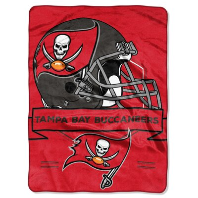 NFL Prestige Raschel Throw NFL Team: Tampa Bay Buccaneers