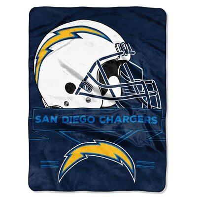 NFL Prestige Raschel Throw NFL Team: San Diego Chargers