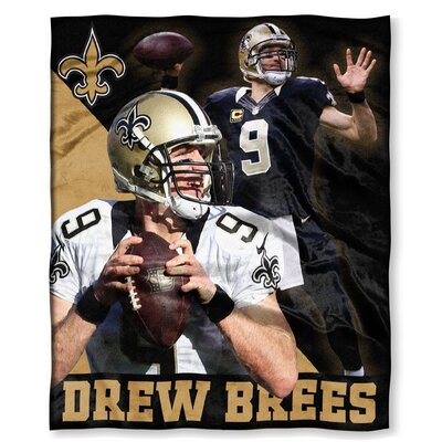 NFL Player Throw Blanket NFL Player: Drew Brees