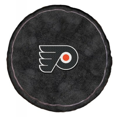 NHL 3D Sports Throw Pillow NHL Team: Philadelphia Flyers