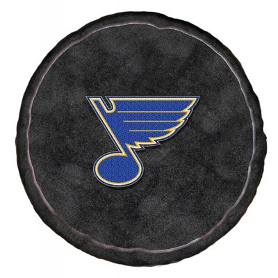 NHL 3D Sports Throw Pillow NHL Team: St. Louis Blues